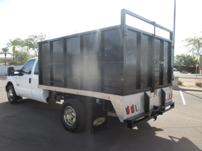 USED 2012 FORD F350 BOX DUMP TRUCK #2297-5