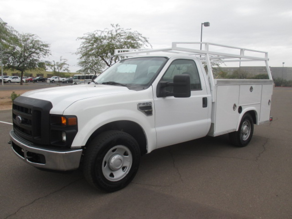 USED 2010 FORD F250 SERVICE - UTILITY TRUCK #2306