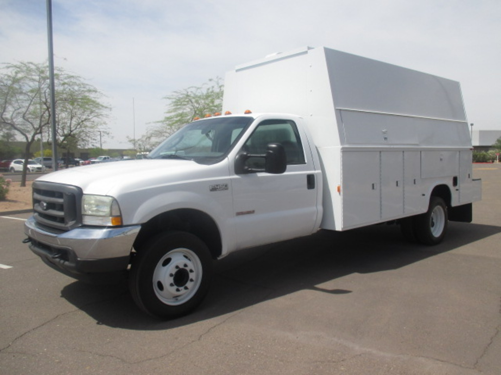 USED 2004 FORD F450 SERVICE - UTILITY TRUCK #2320