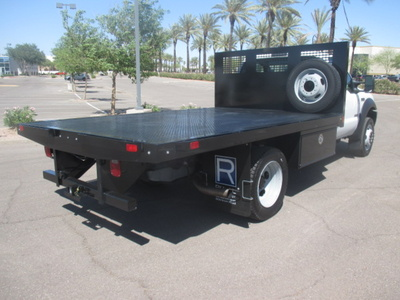 USED 2006 FORD F550 FLATBED TRUCK #2335-4