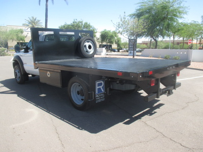 USED 2006 FORD F550 FLATBED TRUCK #2335-5