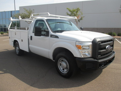 USED 2013 FORD F250 SERVICE - UTILITY TRUCK #2360-3