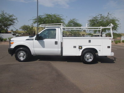 USED 2013 FORD F250 SERVICE - UTILITY TRUCK #2360-8
