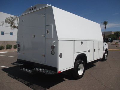 USED 2011 FORD E450 SERVICE - UTILITY TRUCK #2366-4