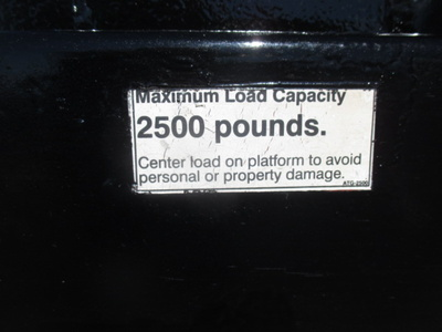 USED 2007 FORD F550 STAKE BODY TRUCK #2378-8