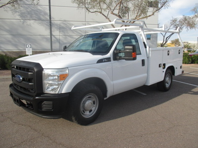 USED 2015 FORD F250 SERVICE - UTILITY TRUCK #2401-1
