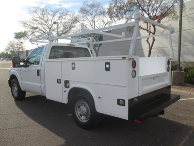 USED 2015 FORD F250 SERVICE - UTILITY TRUCK #2401-6