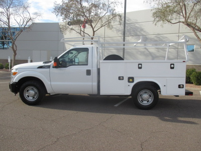 USED 2015 FORD F250 SERVICE - UTILITY TRUCK #2401-7