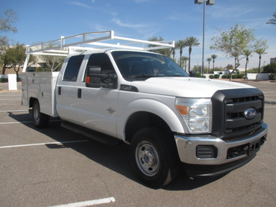 USED 2014 FORD F250 SERVICE - UTILITY TRUCK #2411-3