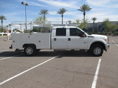 USED 2014 FORD F250 SERVICE - UTILITY TRUCK #2411-4