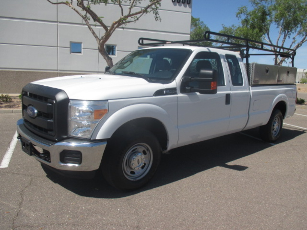USED 2016 FORD F250 2WD 3/4 TON PICKUP TRUCK #2430