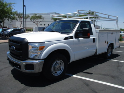 USED 2012 FORD F250 SERVICE - UTILITY TRUCK #2450-1