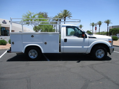 USED 2012 FORD F250 SERVICE - UTILITY TRUCK #2450-4