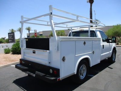 USED 2012 FORD F250 SERVICE - UTILITY TRUCK #2450-5