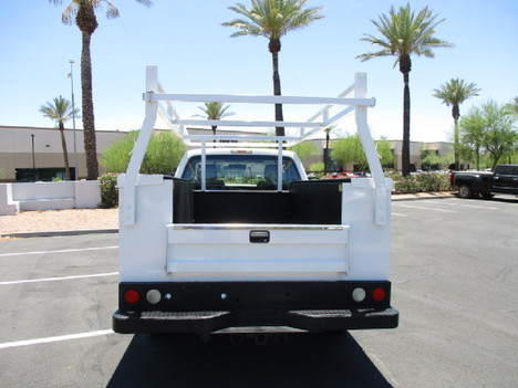 USED 2012 FORD F250 SERVICE - UTILITY TRUCK #2450-6