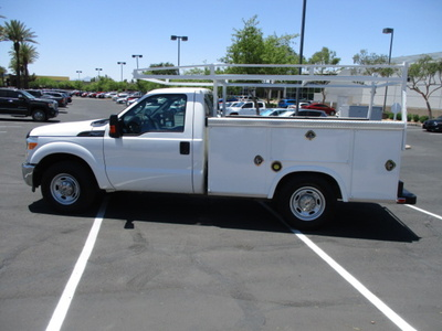 USED 2012 FORD F250 SERVICE - UTILITY TRUCK #2450-8