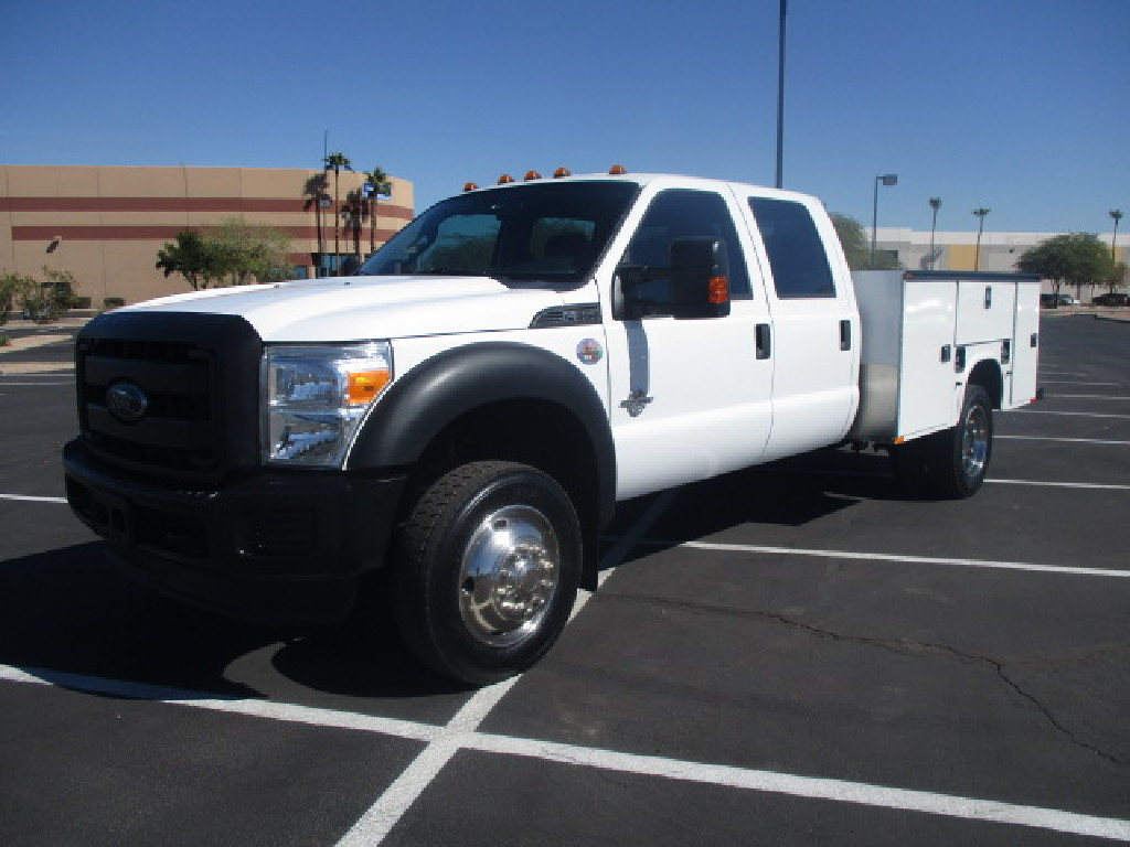 USED 2012 FORD F550 SERVICE - UTILITY TRUCK #2481