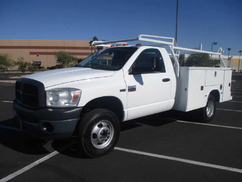 USED 2008 DODGE RAM 3500 SERVICE - UTILITY TRUCK #2486