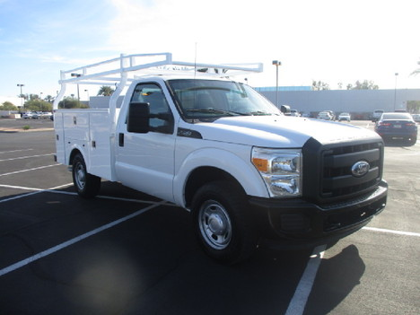USED 2012 FORD F250 SERVICE - UTILITY TRUCK #2504-3