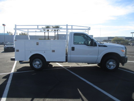 USED 2012 FORD F250 SERVICE - UTILITY TRUCK #2504-4
