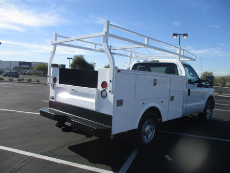 USED 2012 FORD F250 SERVICE - UTILITY TRUCK #2504-5