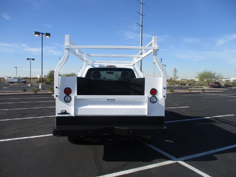 USED 2012 FORD F250 SERVICE - UTILITY TRUCK #2504-6