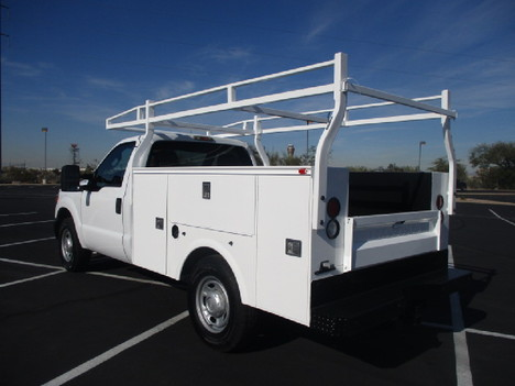 USED 2012 FORD F250 SERVICE - UTILITY TRUCK #2504-7