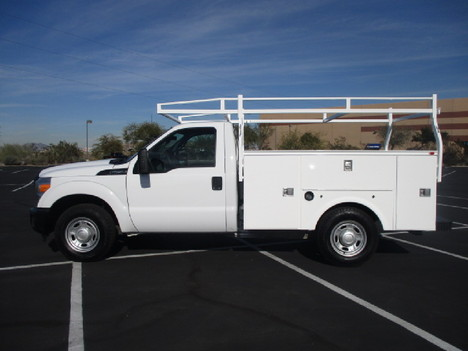 USED 2012 FORD F250 SERVICE - UTILITY TRUCK #2504-8