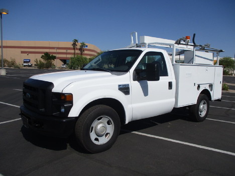 USED 2008 FORD F350 SERVICE - UTILITY TRUCK #2526-1