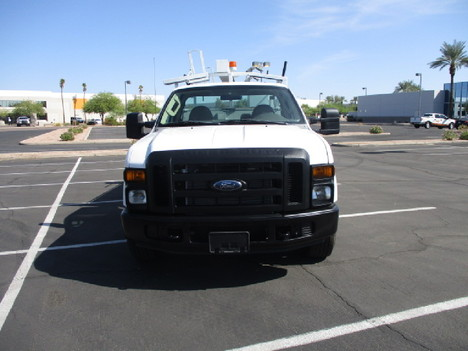 USED 2008 FORD F350 SERVICE - UTILITY TRUCK #2526-2
