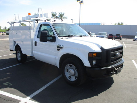 USED 2008 FORD F350 SERVICE - UTILITY TRUCK #2526-3