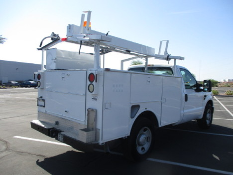 USED 2008 FORD F350 SERVICE - UTILITY TRUCK #2526-5