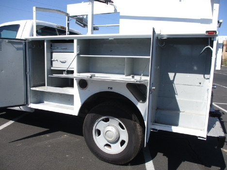 USED 2008 FORD F350 SERVICE - UTILITY TRUCK #2526-9