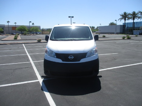 USED 2016 NISSAN NV200 PANEL - CARGO VAN TRUCK #2542-2
