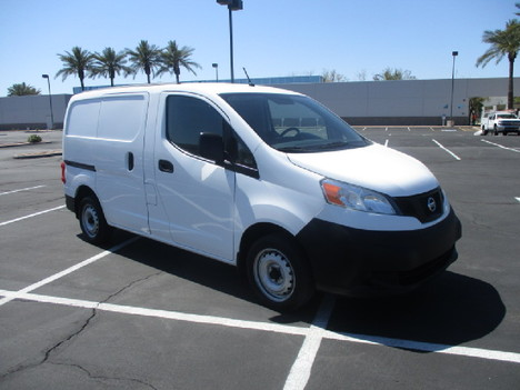 USED 2016 NISSAN NV200 PANEL - CARGO VAN TRUCK #2542-3