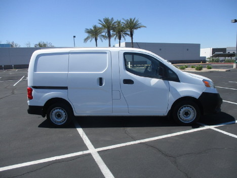 USED 2016 NISSAN NV200 PANEL - CARGO VAN TRUCK #2542-4