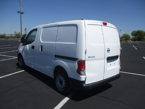 USED 2016 NISSAN NV200 PANEL - CARGO VAN TRUCK #2542-7