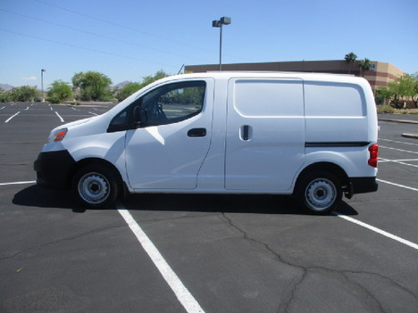 USED 2016 NISSAN NV200 PANEL - CARGO VAN TRUCK #2542-8