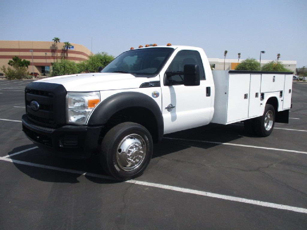 USED 2012 FORD F450 SERVICE - UTILITY TRUCK #2574